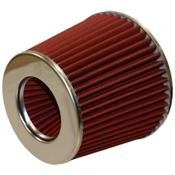 Performence Car Air Cleaner : Red performance car air filter universal intake