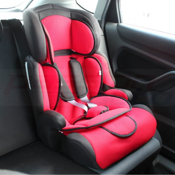 2 STAGE FULLY ADJUSTABLE CHILDS CAR BOOSTER SEAT FORWARD FACING BABY/CHILD/KIDS Enlarged Preview