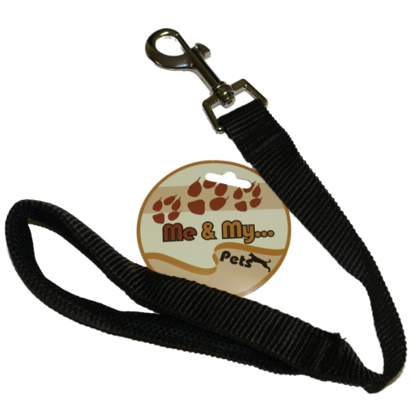 ME & MY SHORT CLOSE CONTROL DOG LEAD/TRAINING/TRAFFIC STRONG PADDED HAND LOOP Enlarged Preview