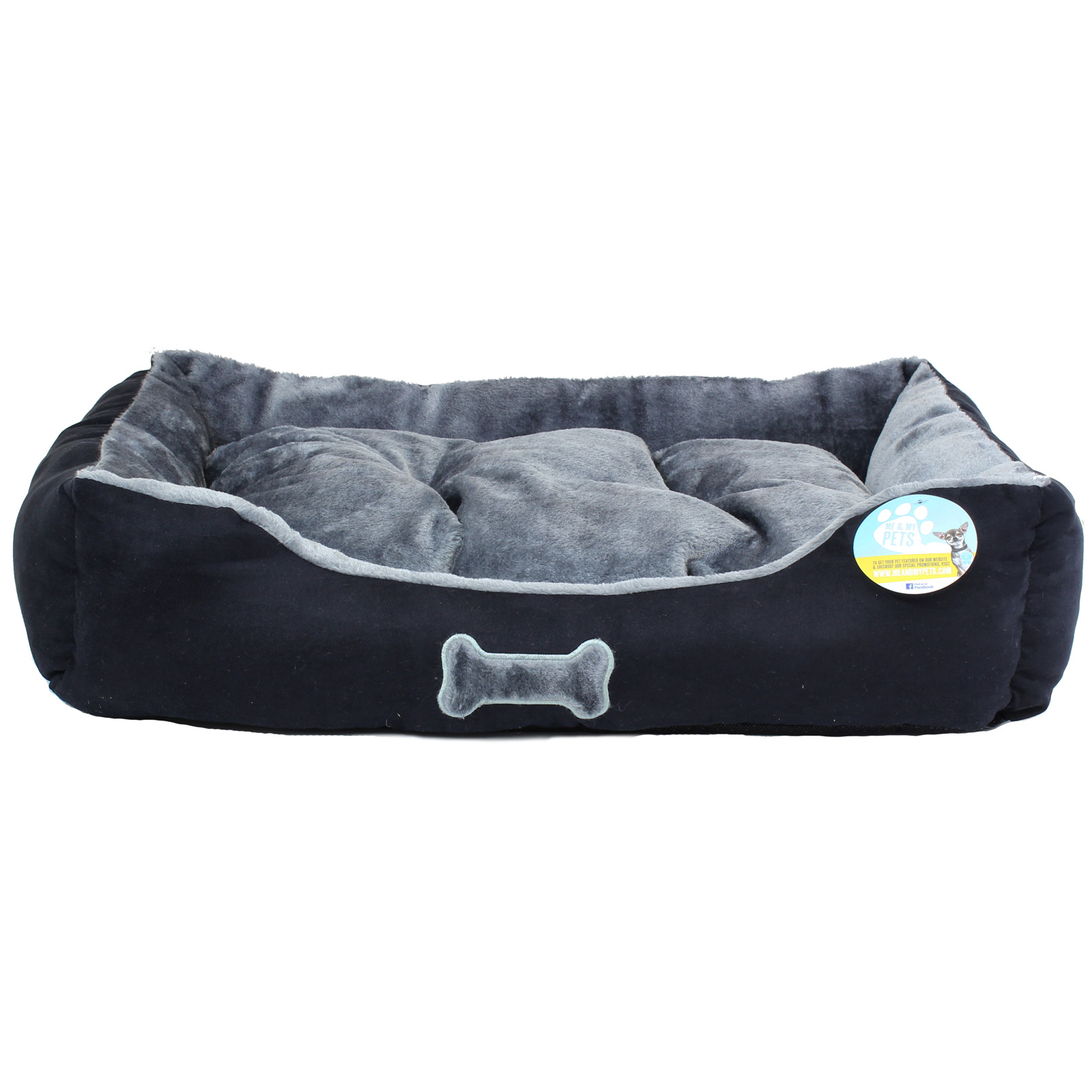 me my super soft dog puppy pet bed small medium large luxury comfy s m l new ebay. Black Bedroom Furniture Sets. Home Design Ideas