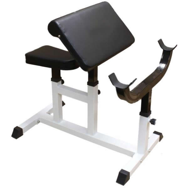 Preacher Curl Dumbbell Bicep Tricep Bench Arm Weight