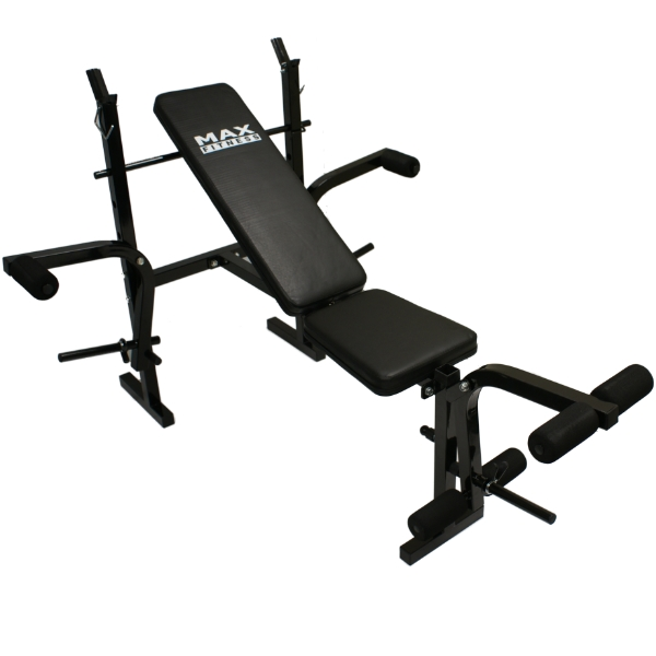 Max fitness weights bench multi home gym dumbell workout