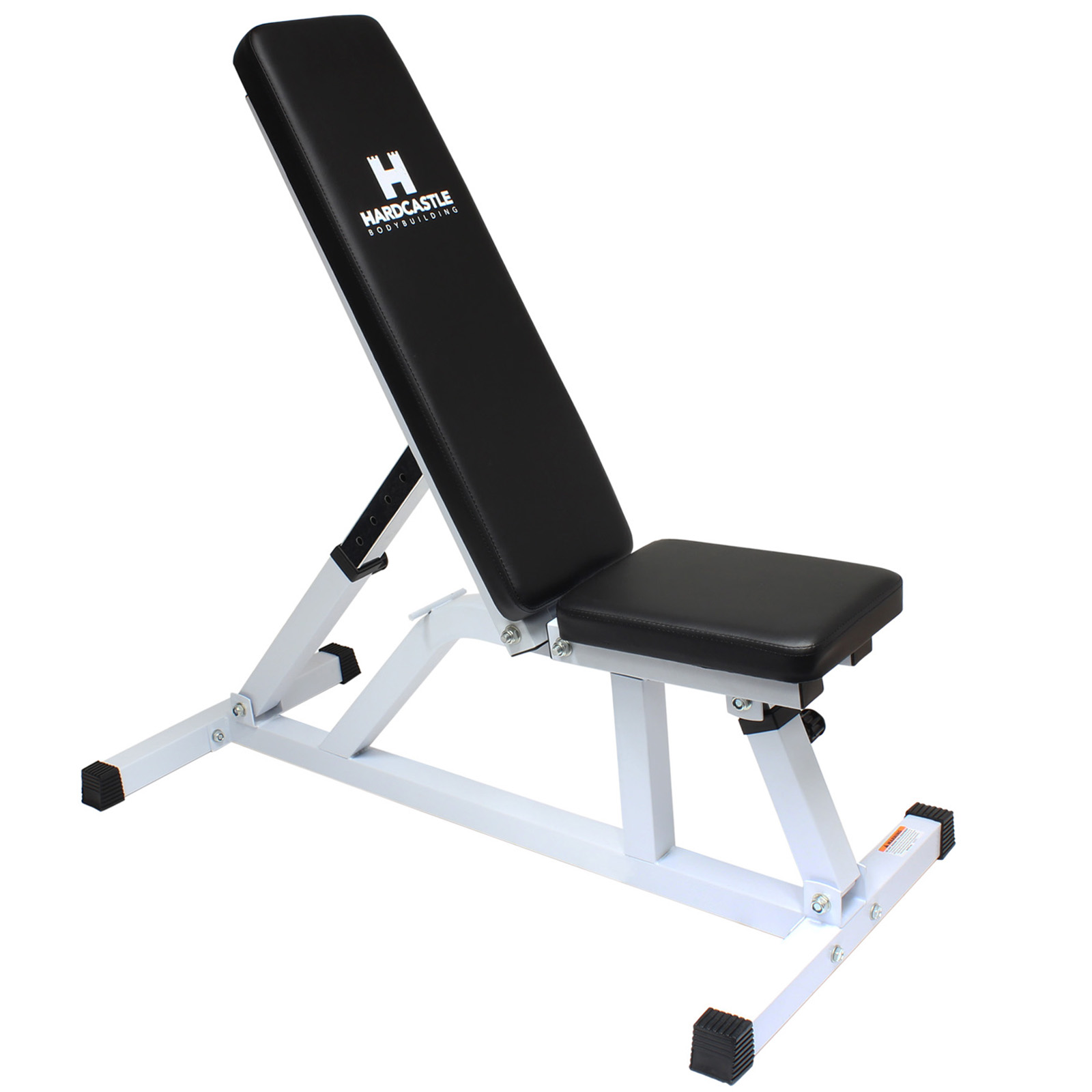 White Adjustable Flat Incline Home Gym Dumbbell Workout Weight Bench Heavy Duty Ebay