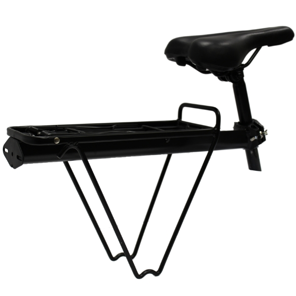 PEDALPRO BICYCLE SEAT POST MOUNTED REAR PANNIER BAG RACK BIKE/CYCLE ALUMINIUM