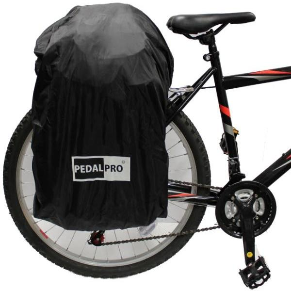 PEDALPRO WATERPROOF PANNIER BAG RAIN COVER FOR SINGLE/DOUBLE BICYCLE/BIKE/CYCLE  Enlarged Preview