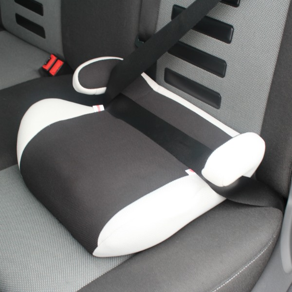black grey kids childs ece approved car booster seat with removable cover ebay. Black Bedroom Furniture Sets. Home Design Ideas