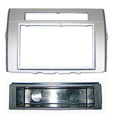 TOYOTA COROLLA VERSO DOUBLE/SINGLE STEREO FASCIA PLATE Enlarged Preview