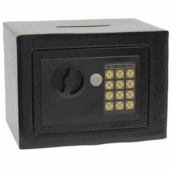 Electronic digital home security safe with money box for Home money box