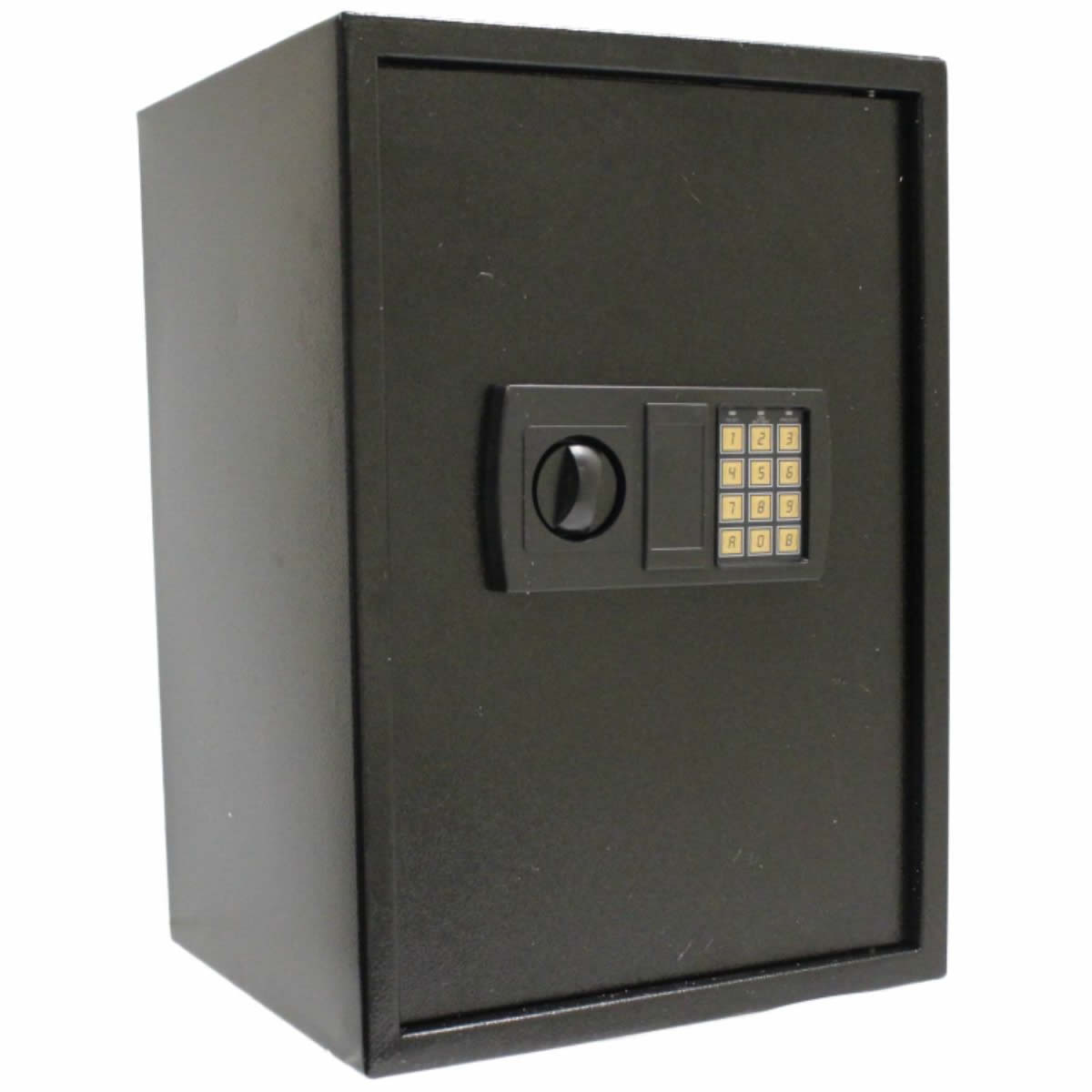 large black 350x310x500 steel home security safe electronic digital keypad lock. Black Bedroom Furniture Sets. Home Design Ideas