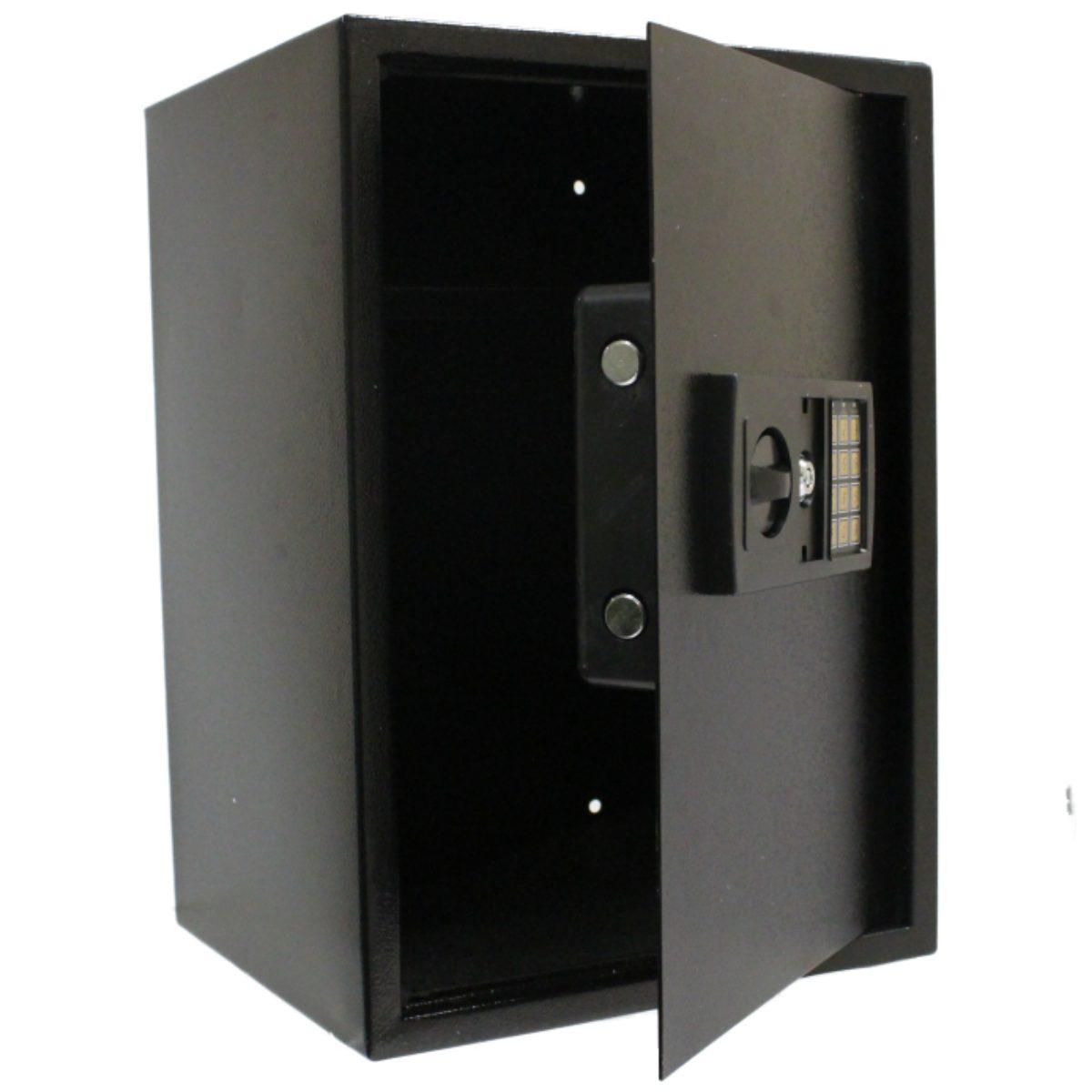 large black 350x310x500 steel home security safe electronic digital keypad lo. Black Bedroom Furniture Sets. Home Design Ideas