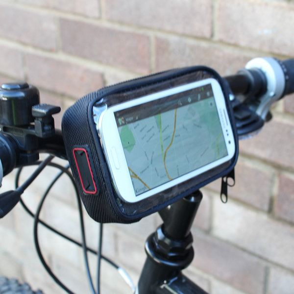 MOBILE PHONE BIKE/BICYCLE HANDLEBAR MOUNT WATERPROOF HOLDER/CASE CYCLE GALAXY S3