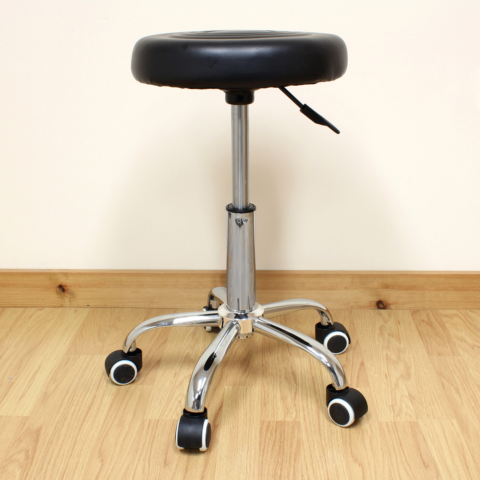 Adjustable Round Swivel Chair Stool Tattoo Nail Technician