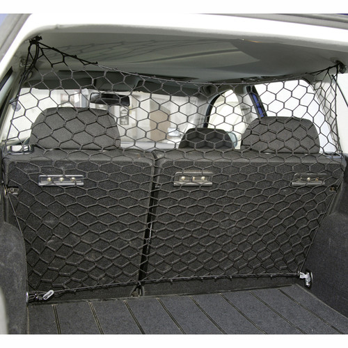 ME & MY PET DOG/CAT CAR/VAN SAFETY NET GUARD FRONT/BACK SEAT BARRIER NYLON MESH Enlarged Preview