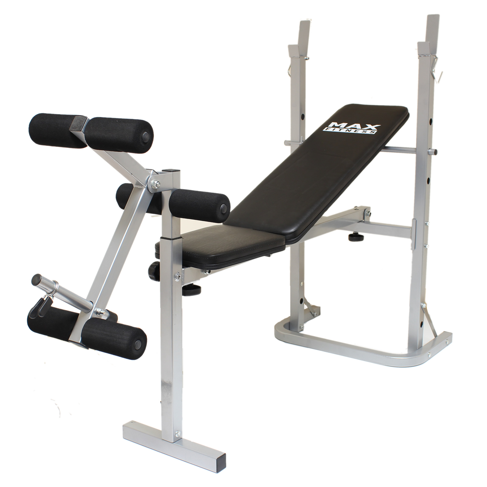 Max Fitness Folding Weight Bench Home Gym Exercise Lift