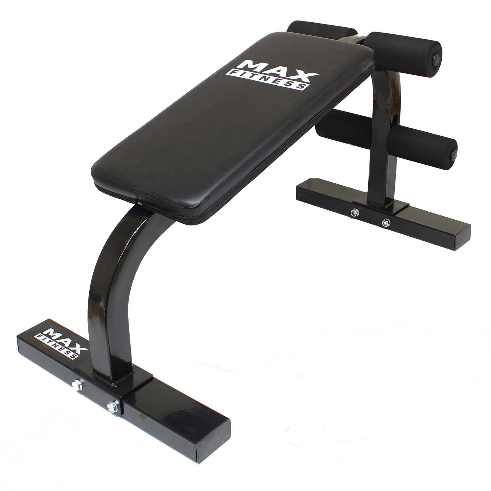 Max Fitness Sit Up Ab Bench Home Gym Workout Exercise