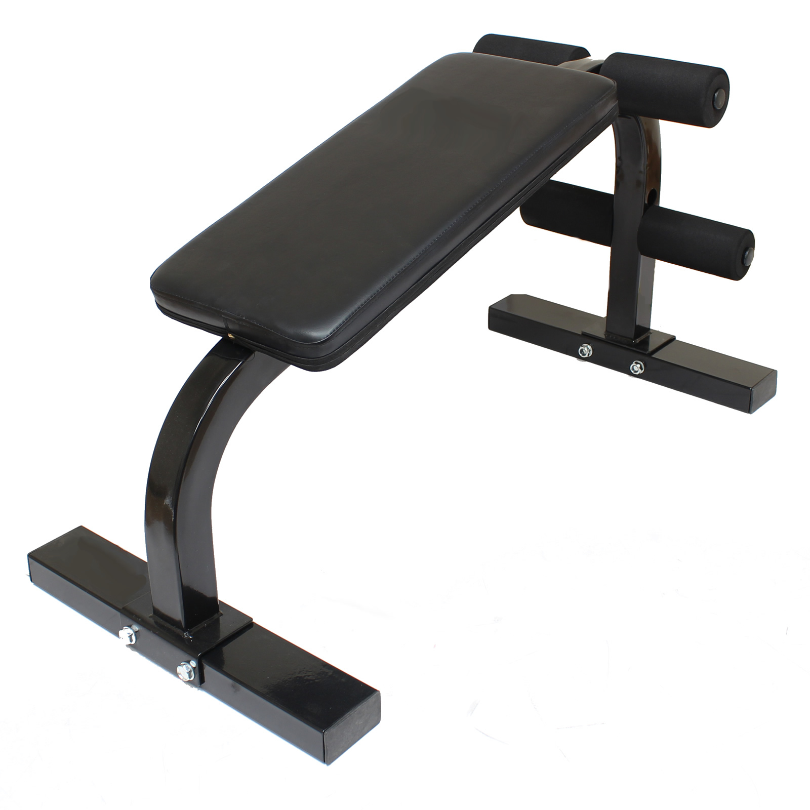 Sit up ab bench home gym workout abs exercise situp stomach abs crunches crunch ebay Abs bench