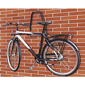 PEDALPRO STRONG FOLD AWAY WALL MOUNTED CYCLE RACK/HOLDER FOR BIKE/BICYCLE/GARAGE Enlarged Preview