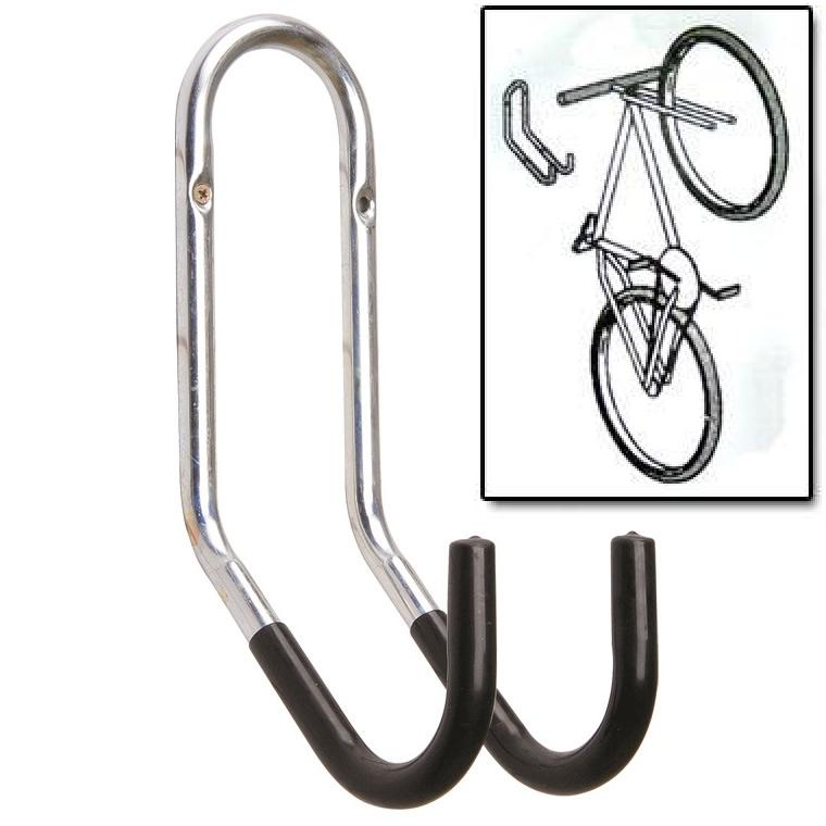 Pedalpro large wall mounted cycle hook rack store bicycle Hooks for the wall