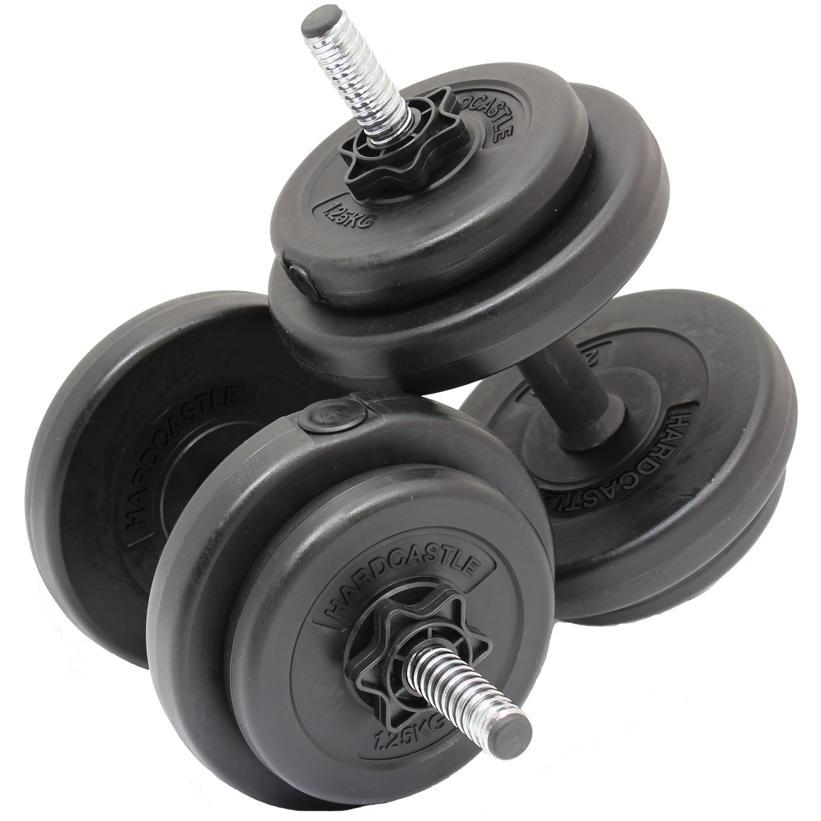 Kg dumbbell free weights set home gym workout training