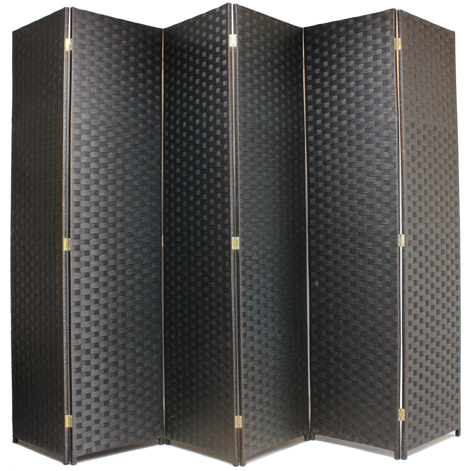 hand made woven wicker room divider separator panelprivacy. Black Bedroom Furniture Sets. Home Design Ideas