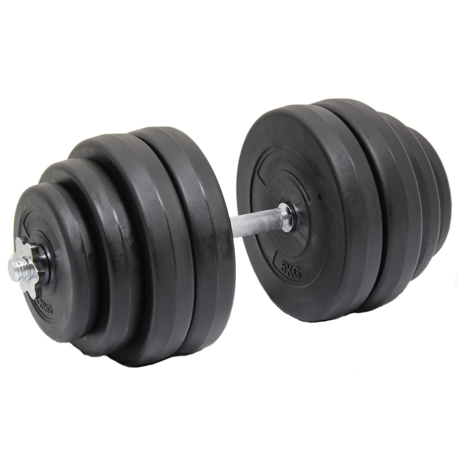 Max Fitness 30kg Single Dumbbell Free Weight Set Gym Bench
