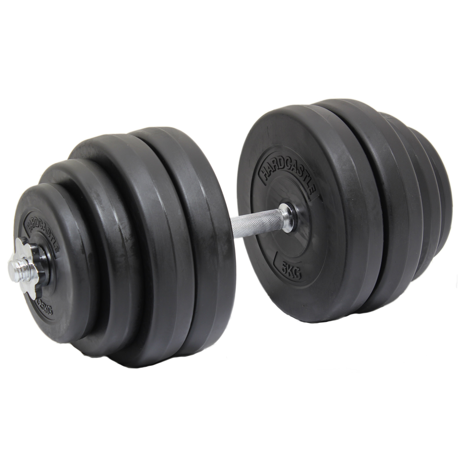 Free Weights Strength Training: 30KG SINGLE HEAVY DUMBBELL FREE WEIGHT SET GYM BARBELL