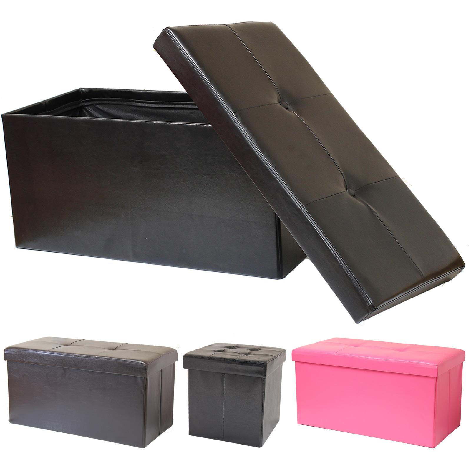 100 folding ottoman storage bench dualplex foldable storage