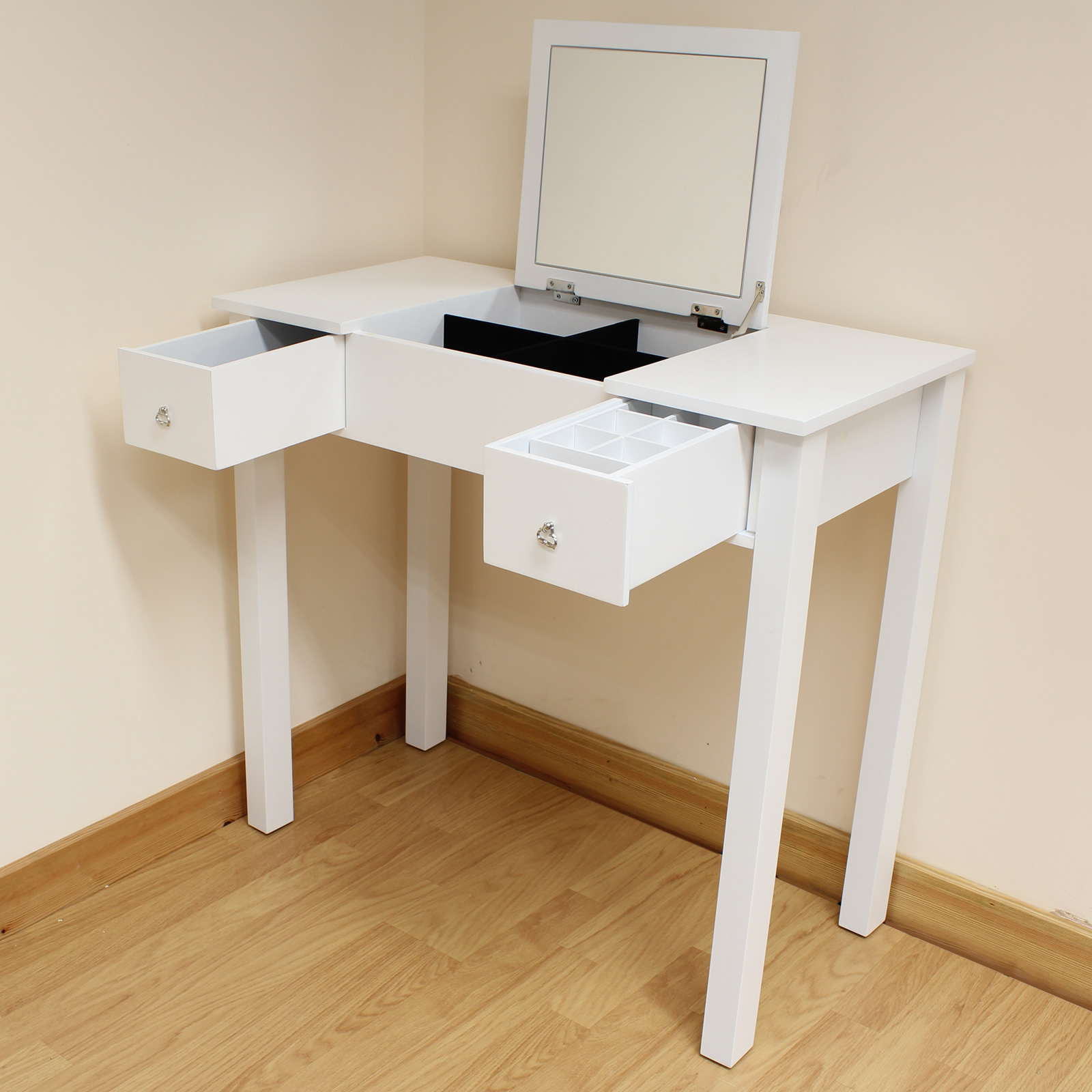 White Dressing Room/Bedroom Vanity/Make Up Table/Desk
