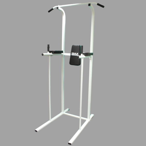 sale max fitness power tower ab dip station pull up bar. Black Bedroom Furniture Sets. Home Design Ideas
