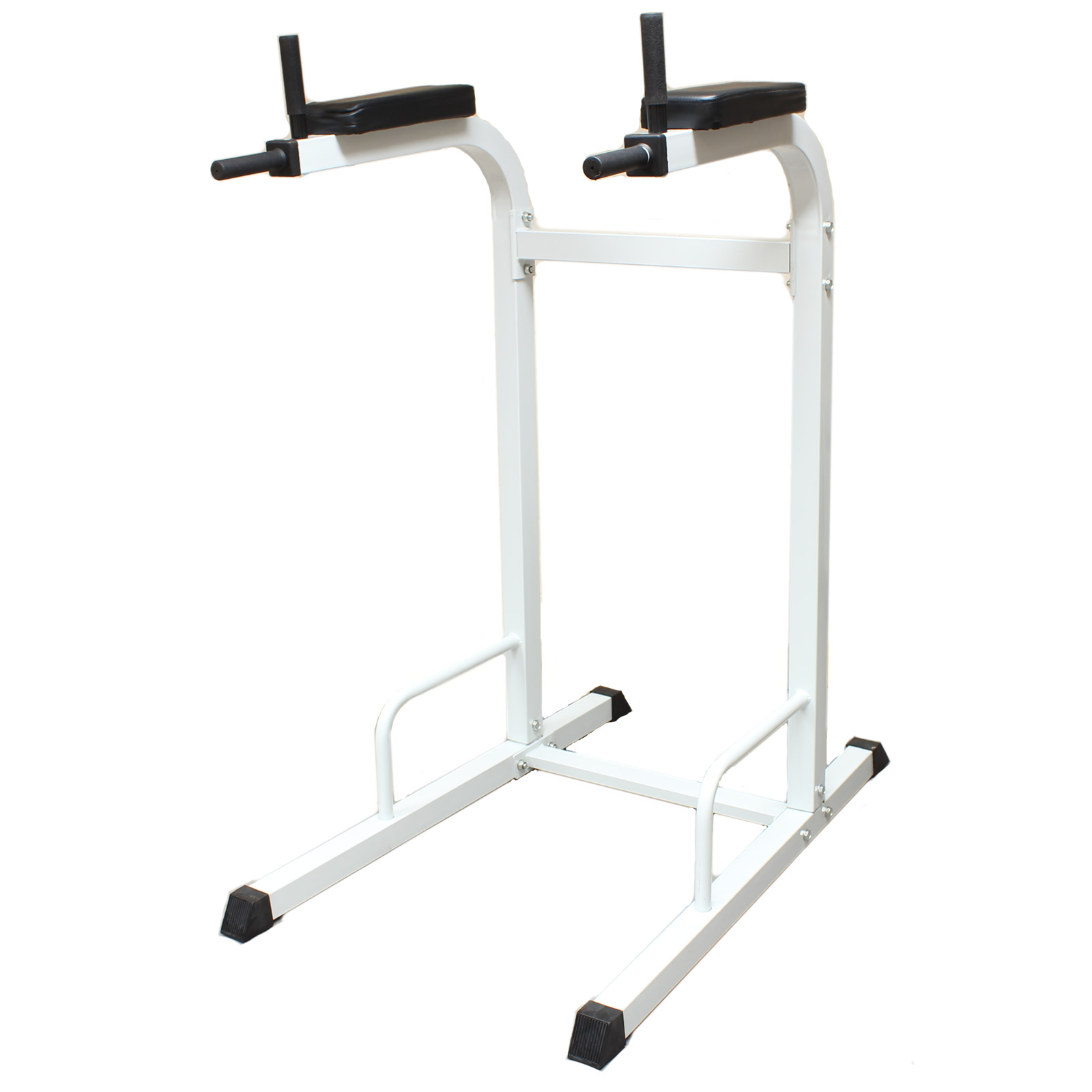 HEAVY DUTY DIPPING STATION DIP BAR STAND HOME GYM EQUIPMENT MACHINE TRICEP DIPS Enlarged Preview