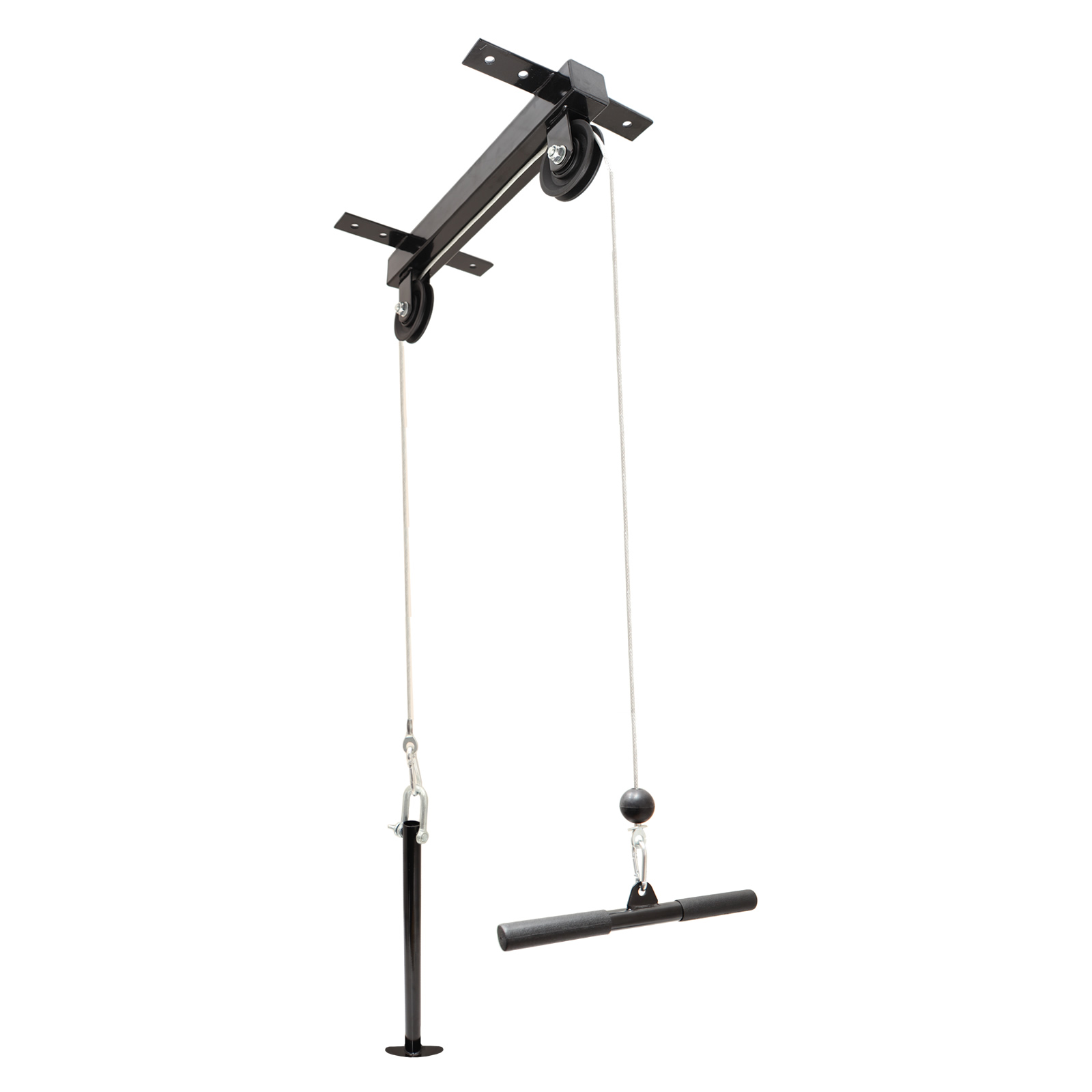 Ceiling Mounted Lat Pull Down Cable Pulley Machine Home