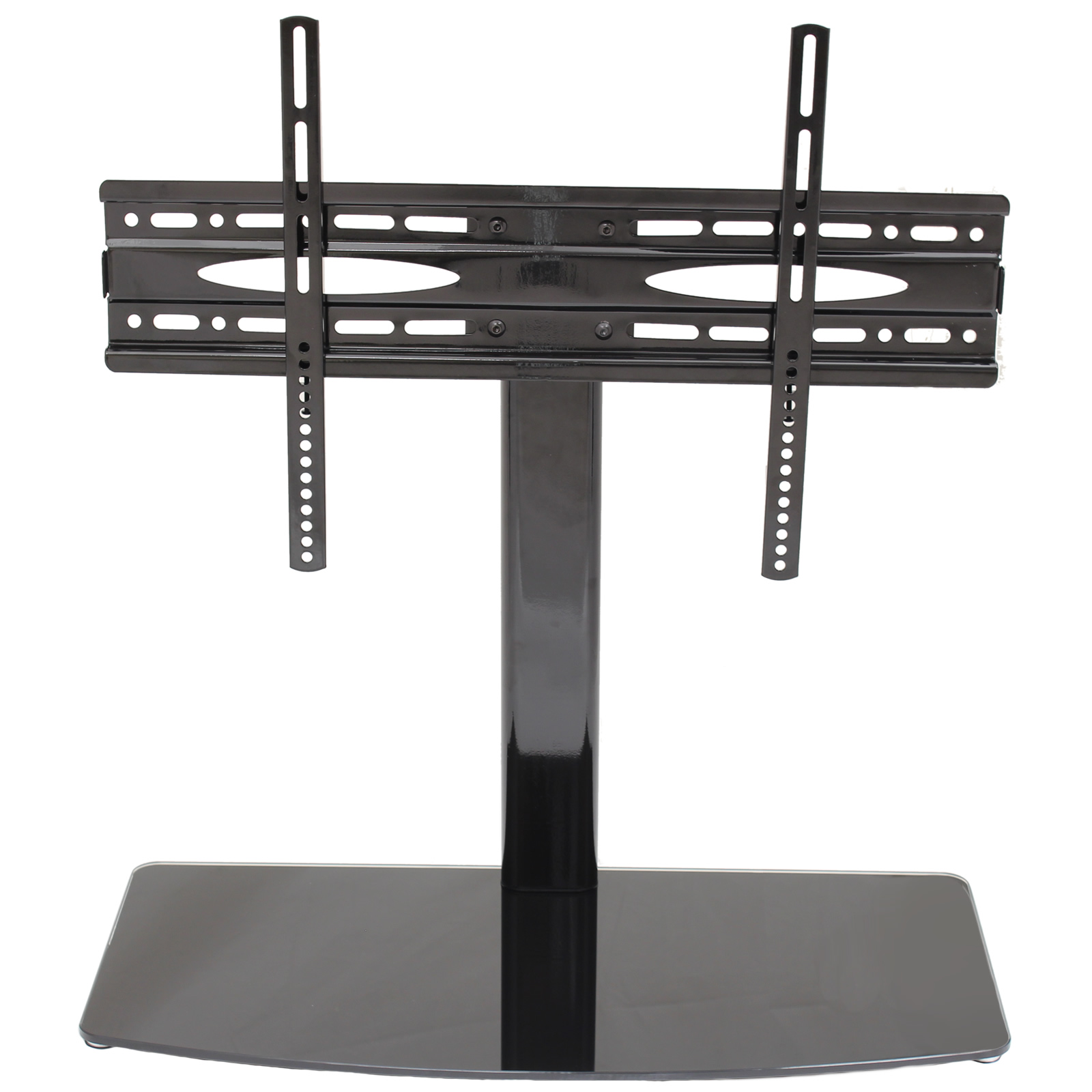 universal table top 26 42 tv stand lcd led plasma base replacement pedestal ebay. Black Bedroom Furniture Sets. Home Design Ideas
