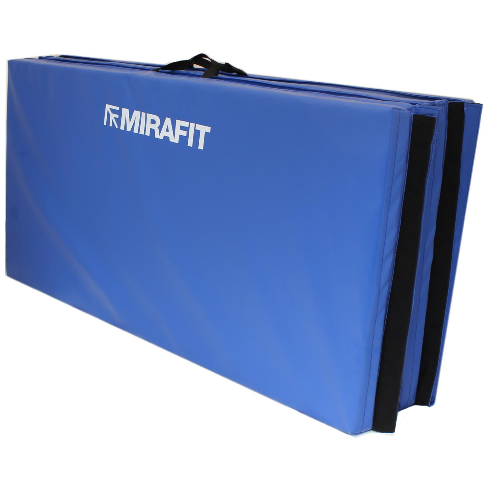 Mirafit 8ft Large Folding Exercise Gymnastics Floor Mat