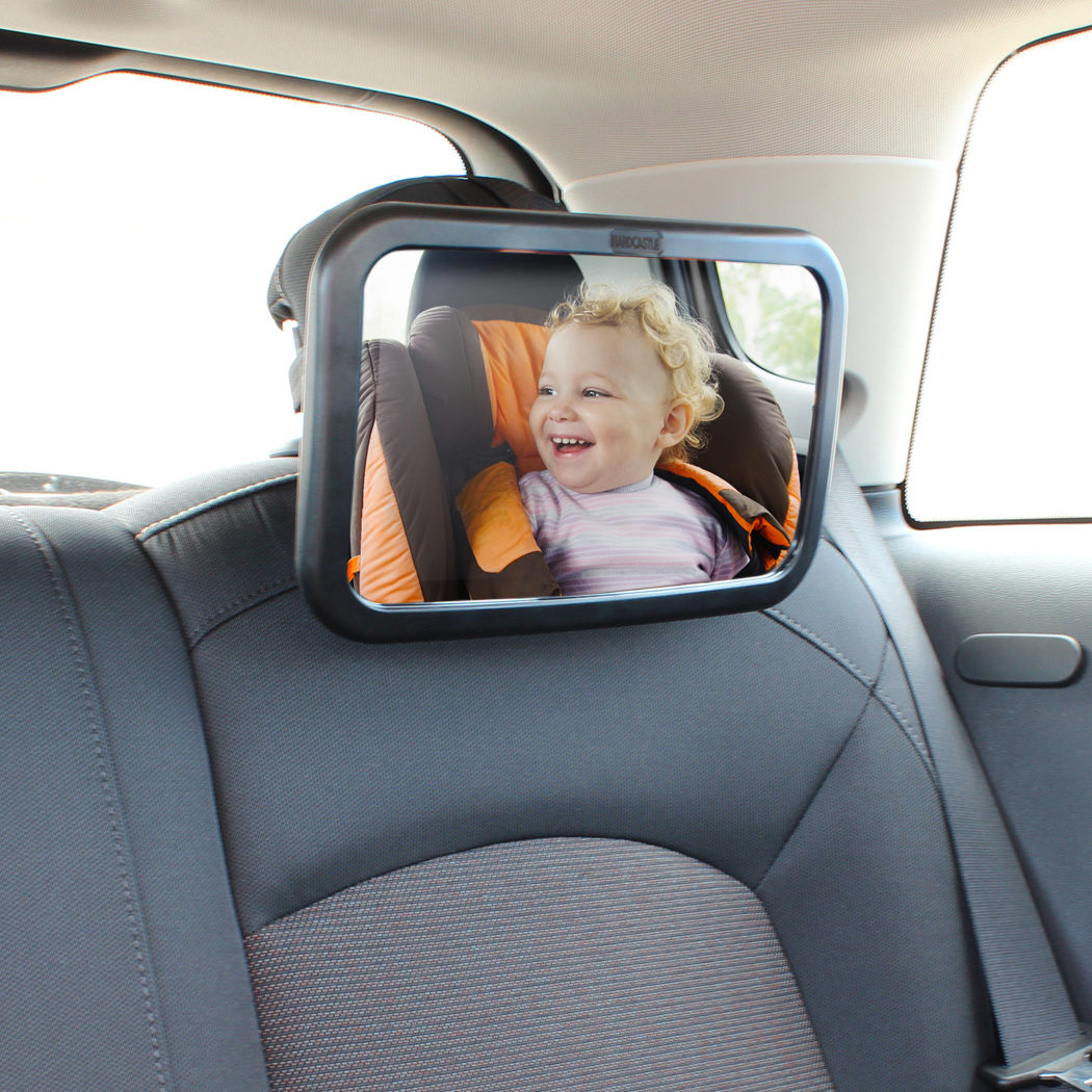 large adjustable wide view rear baby child seat car safety mirror headrest mount ebay. Black Bedroom Furniture Sets. Home Design Ideas