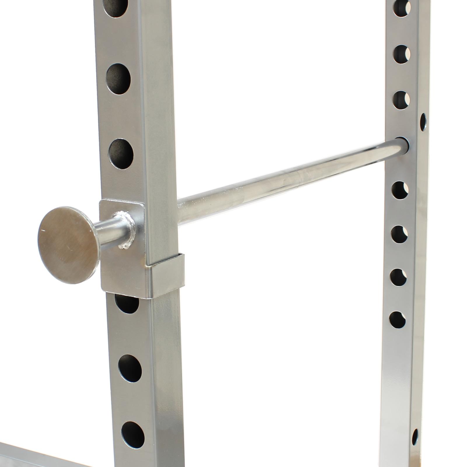 Mirafit Power Cage Squat Rack Amp Pull Up Bar Multi Gym
