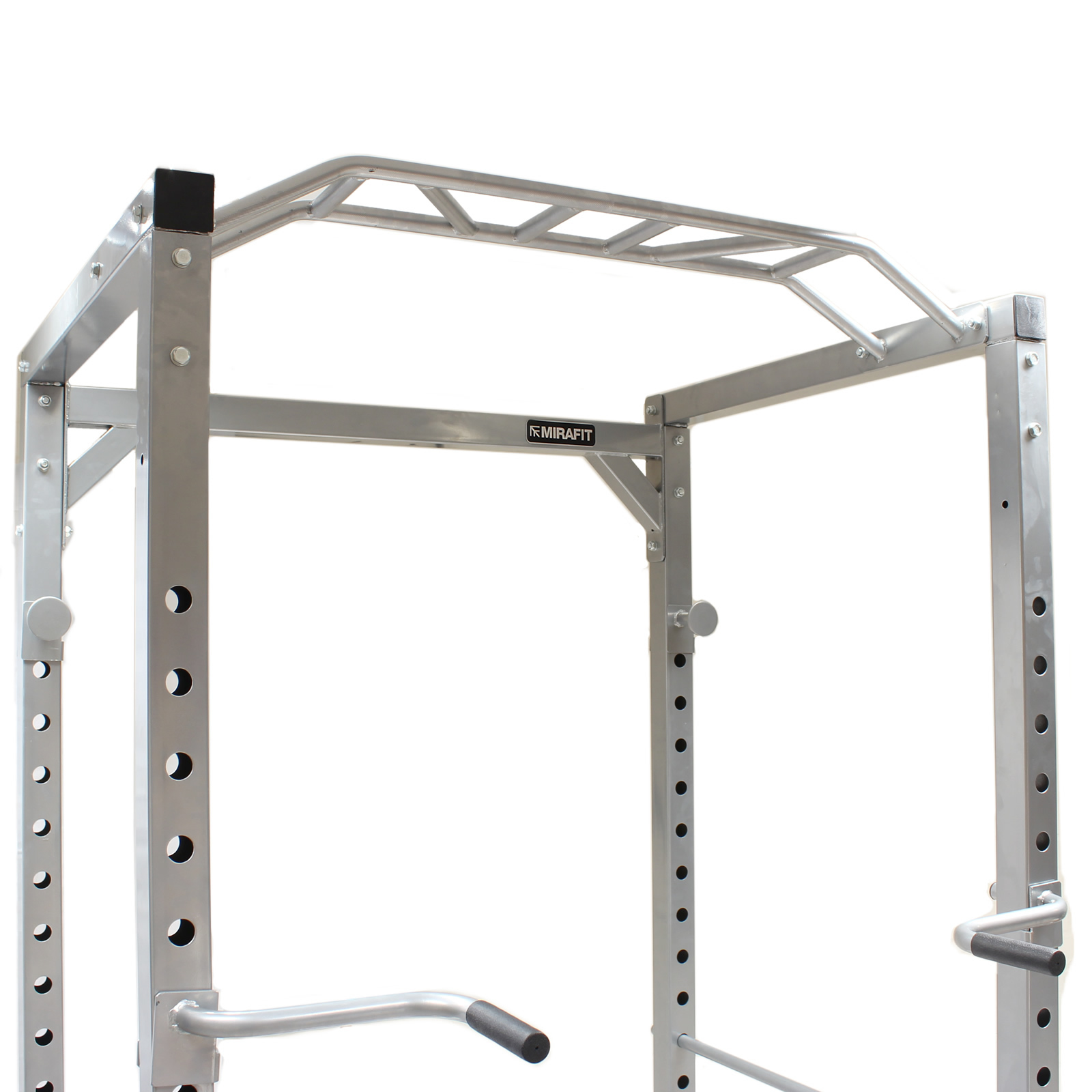 Power Rack Bench Press Safety: MIRAFIT 350kg Heavy Duty Olympic Full Power Cage/Rack