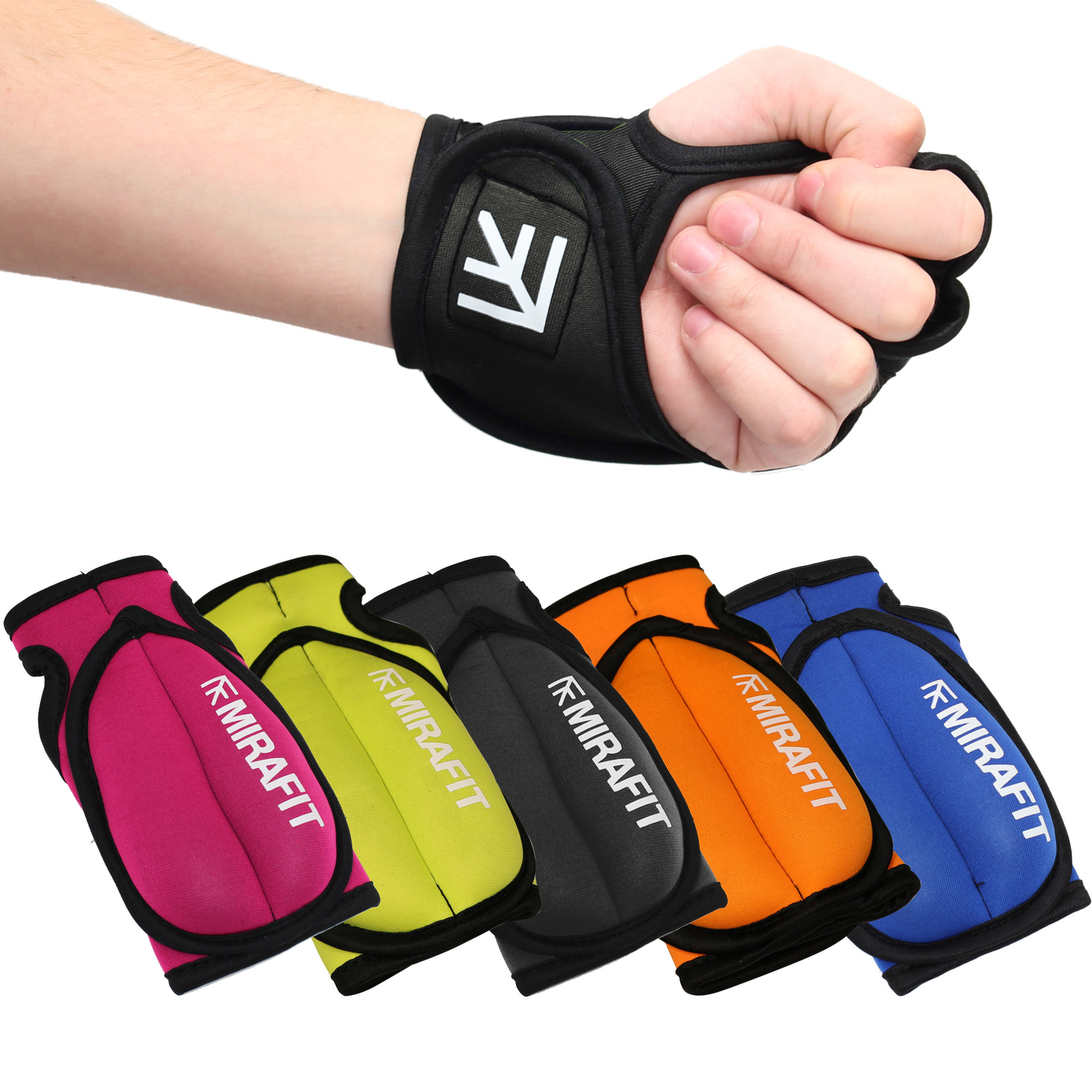 MIRAFIT Weighted Training Gloves Exercise/Shadow Boxing ...
