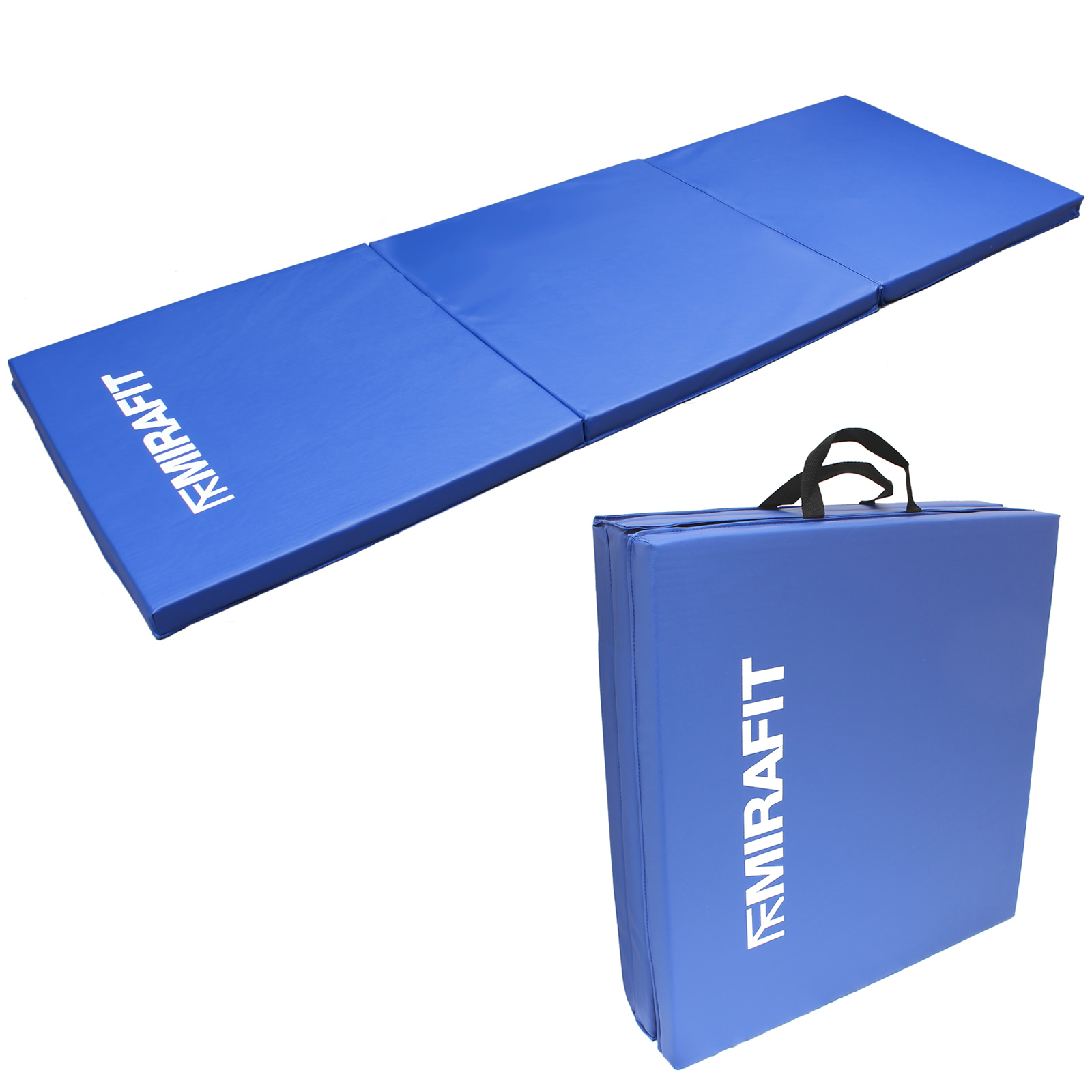 MIRAFIT Tri-Fold Folding Exercise Mat Yoga/Pilates/Gym