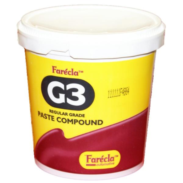 FARECLA G3 CAR BODYSHOP REGULAR GRADE CUTTING PASTE RUBBING COMPOUND 1KG TUB Enlarged Preview