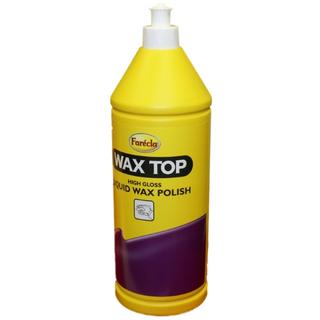 Farecla Wax Top Liquid Wax Polish 1 Litre