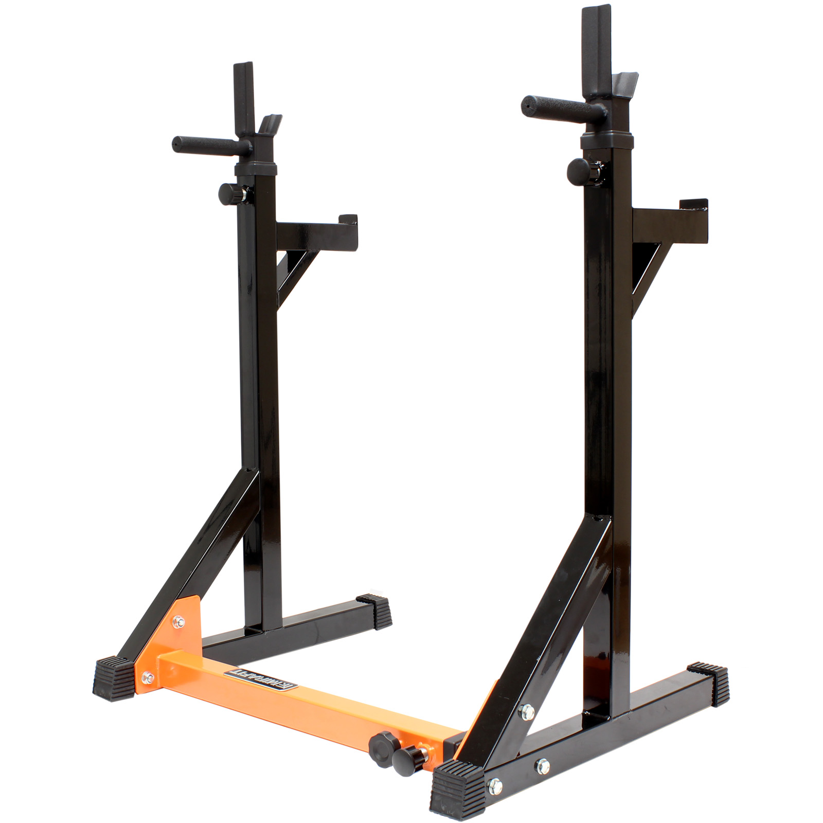 Mirafit fully adjustable squat dip rack gym weight for A squat rack