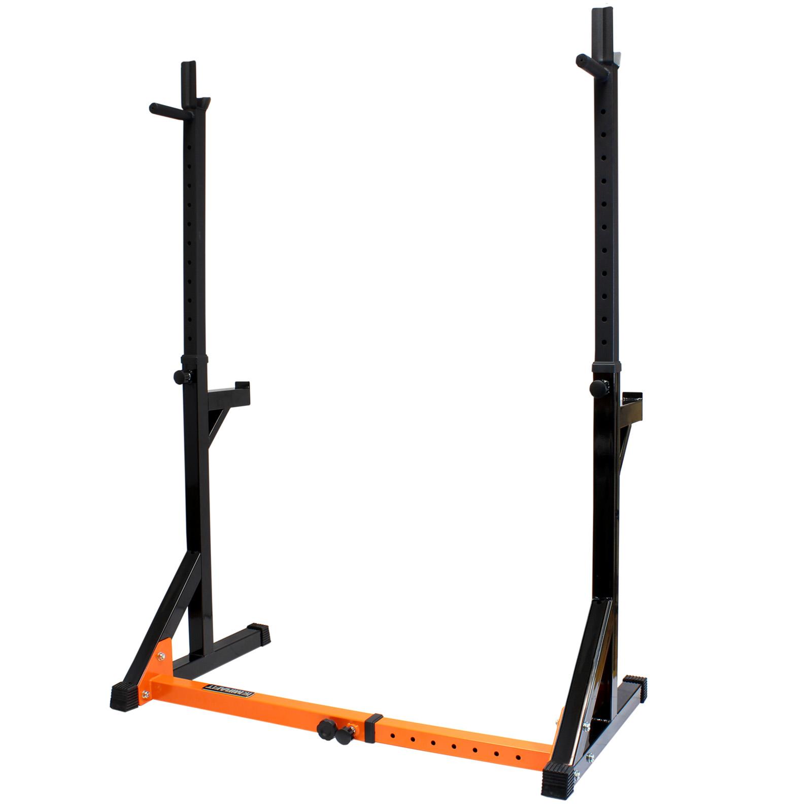 Mirafit Fully Adjustable Squat Amp Dip Rack Gym Weight