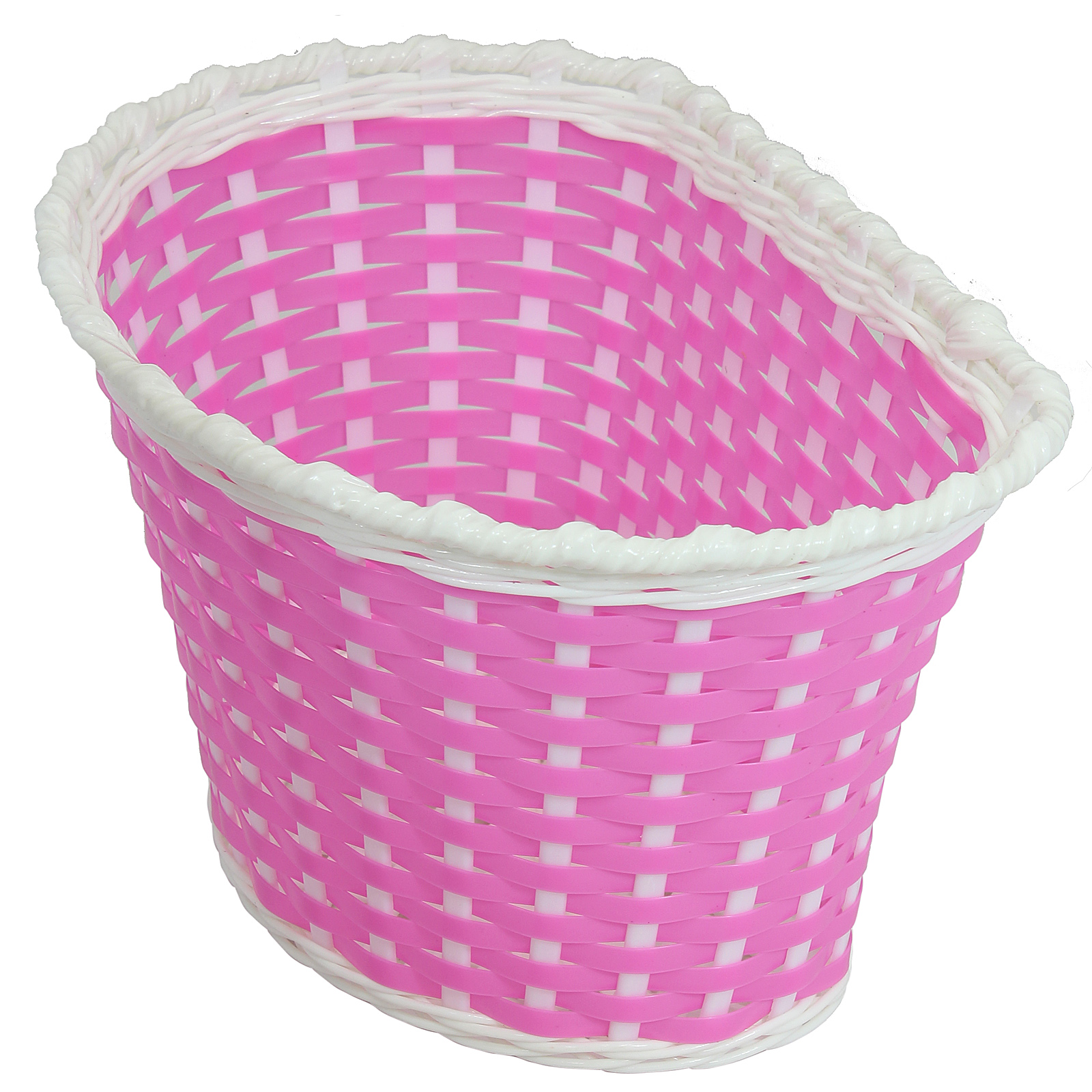 Pink Childs Bicycle Basket Children Kids Boy Girl Bike