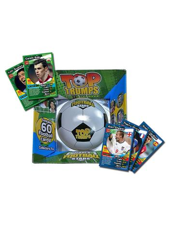 View Item Top Trumps - World Football Stars Collectors Tin