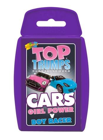 View Item Top Trumps - Girl Power v Boy Racer