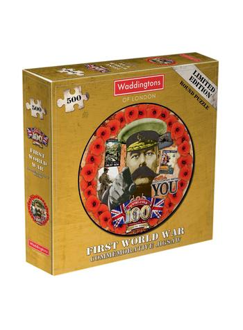 View Item First World War 500 Piece Round Jigsaw Puzzle