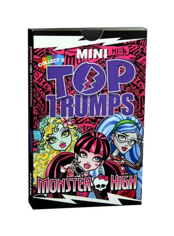 View Item Mini Top Trumps - Monster High