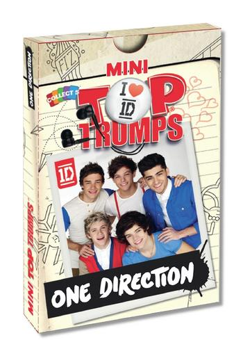 View Item Mini Top Trumps - One Direction