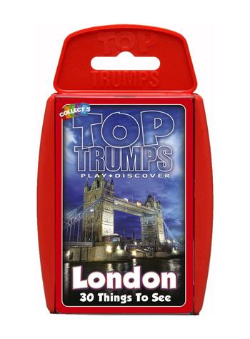 View Item Top Trumps - London 30 Things To See