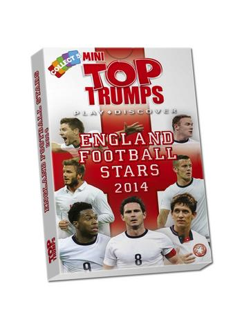 View Item Mini Top Trumps - England Football Stars